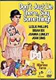 Don't Just Lie There, Say Something [DVD]