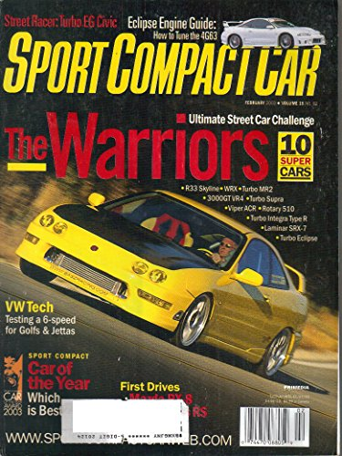 Sport Compact Car Magazine, Volume 15, No. 2, (February, 2003)