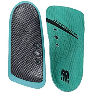 New Balance Insoles 3715 3/4 Arch Stability Insole Shoe, teal, Medium/M 13 D US
