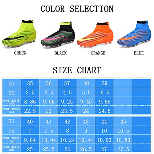 Orange Top Grand De Air Spike High Foot Chaussures Wowei Sneakers Enfant Formation Plein Adultes En Unisexe wHxqIZX7