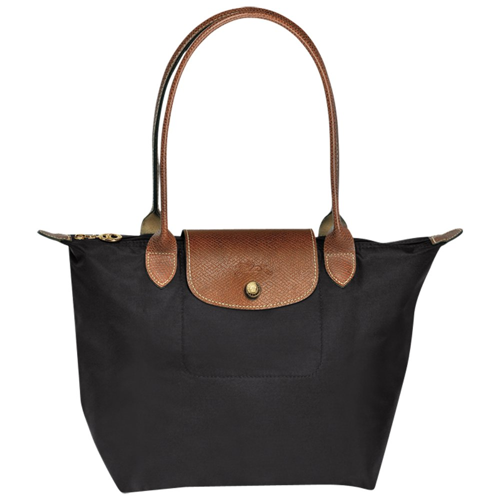 Longcahmp Le Pliage Large Shoulder Tote Bag Black
