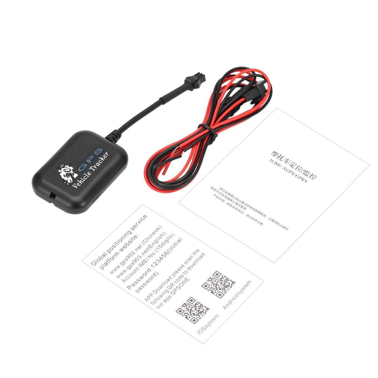 Veicolo Tracker Motorcy clesanti-il ftsystem LBS + SMS/GPRS, Mini GSM GPRS SMS Tracker GPS Quad-band Tempo reale posizione globale dispositivo di localizzazione per auto Moto Scooter Detectoy