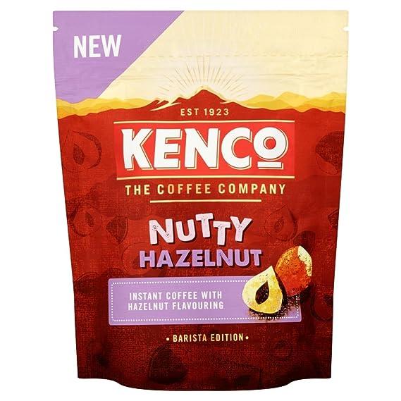 Kenco Barista Edition Nutty Hazelnut Instant Coffee 66 G Pack Of 6