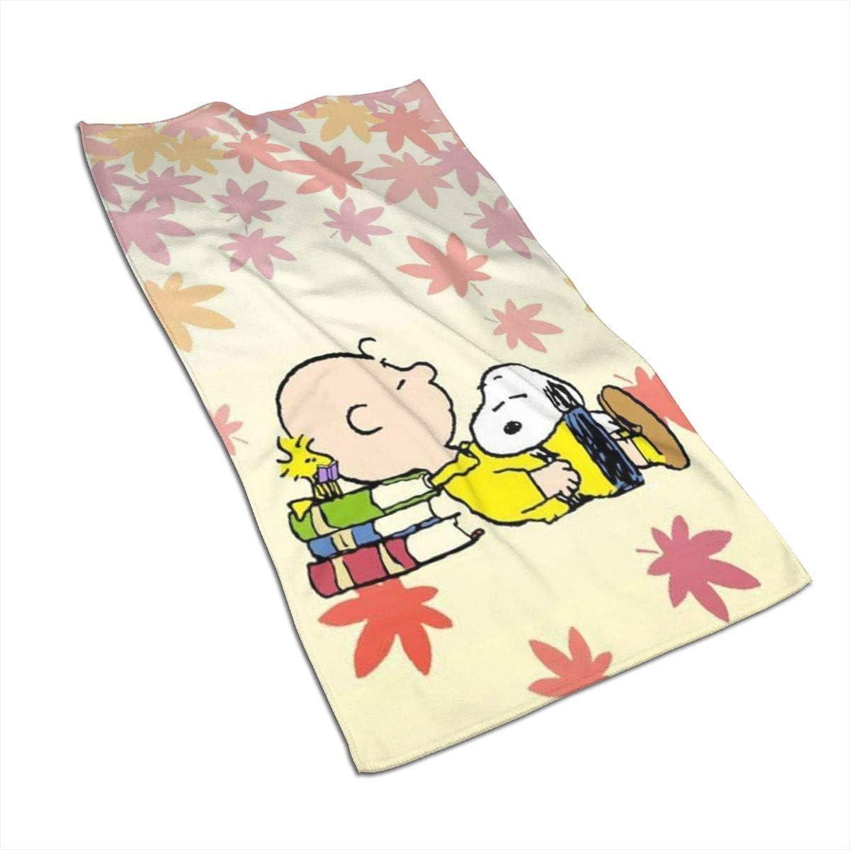 27,5 x 17,5 Pollici Mj-Shop Asciugamano//Asciugamano da Bagno//Asciugamano da Spiaggia ad Asciugatura Rapida Super Assorbente Morbido Snoopys