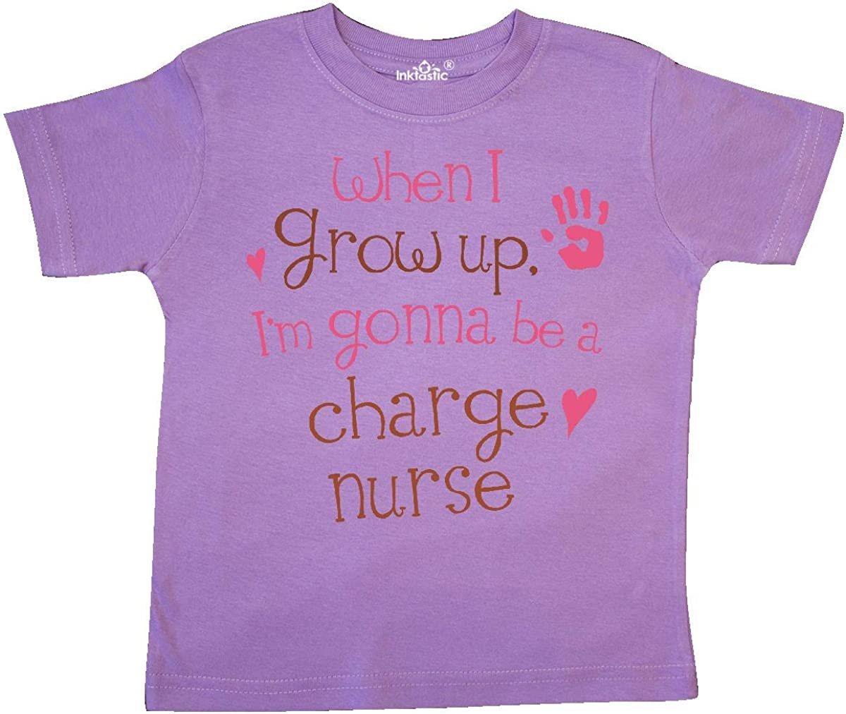 inktastic Charge Nurse Future Toddler T-Shirt