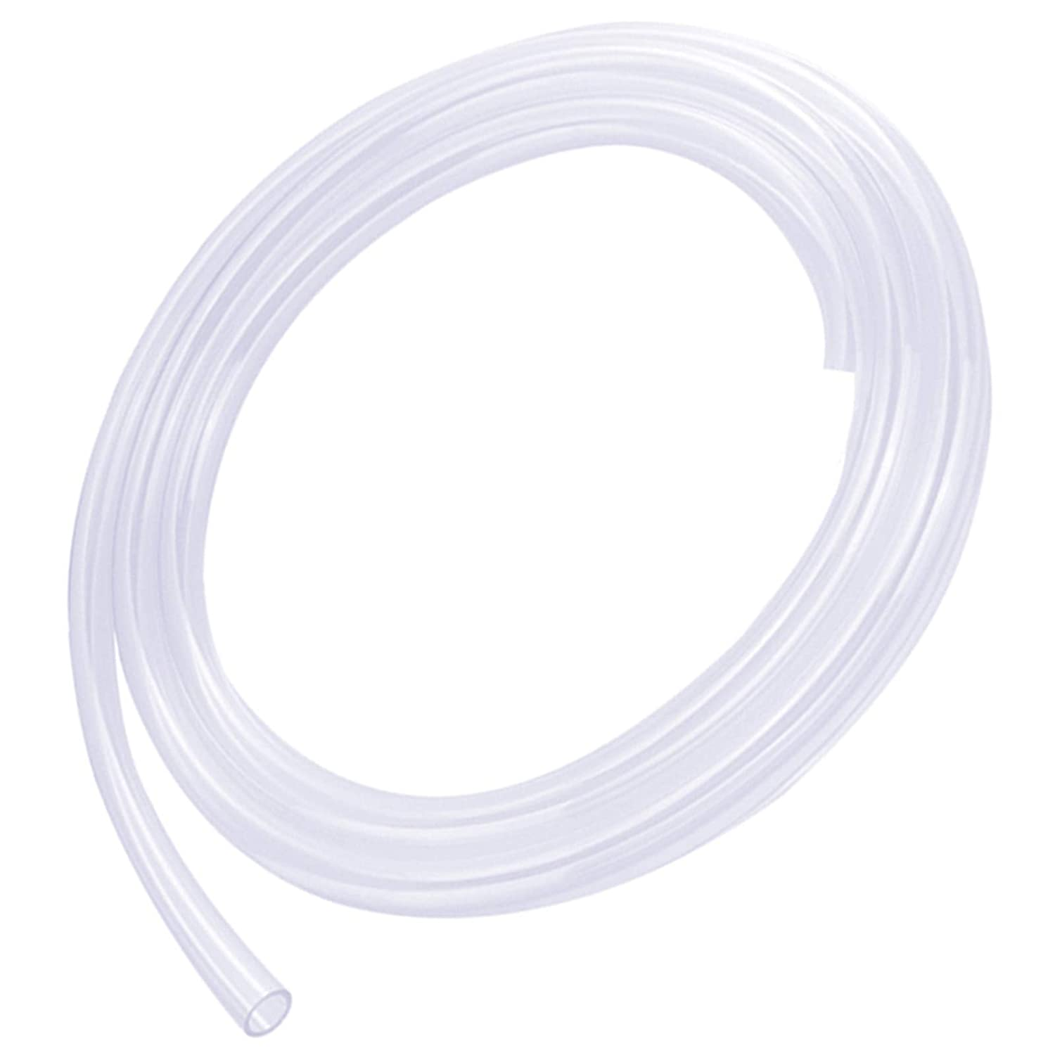 "Silicone Tube 1/8""(3mm) ID x 3/16""(5mm) OD Clear Flexible Silicone Rubber Tubing Water Air Hose Pipe Transparent (3.3ft / 1m;3 x 5mm)"