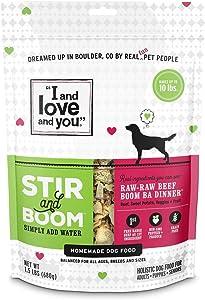 Stir & Boom Freeze Dried Raw Dog Food by