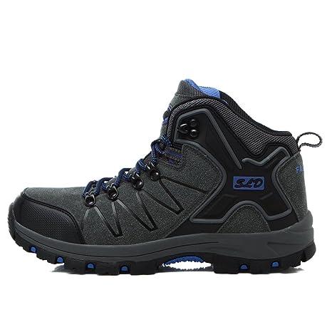 Pattini di alta scarpa in pelle superiore scarpe da tennis all aperto e  inverno impermeabili f220b3b9954
