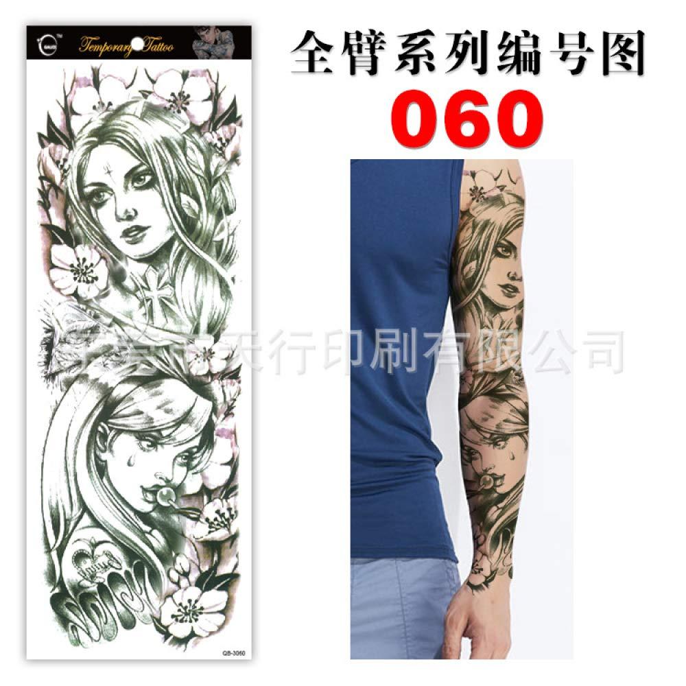 tzxdbh 3pcs El Tatuaje Etiqueta Armado Total QB Flor de Papel ...