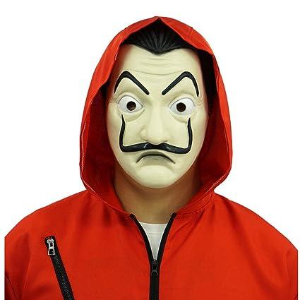Buy Hongzhi Craft La casa De Papel Mask Salvador Dali Money Heist
