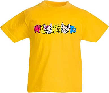 canvashop Camiseta Amarilla Me Contro Te Logo 2019 Camiseta de algodón 100% para niño Amarillo 12-13 Años: Amazon.es: Ropa y accesorios