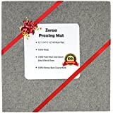"Zoraa12""x14""x.6"" Pressing Mat for Quilting100% Wool Quilter's Pressing Mat for Professional Ironing