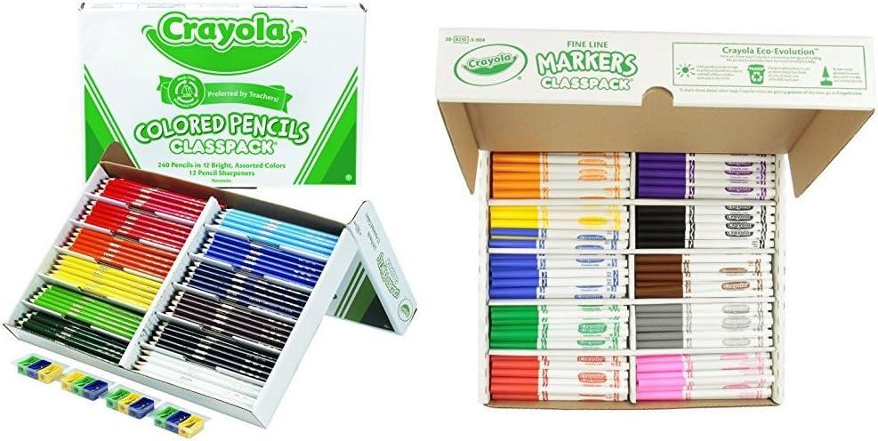 Crayola Colored Pencils 40 BULK orange