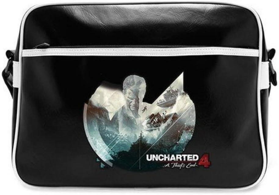 ABYstyle Uncharted Messenger Bag Adventure Vinyl
