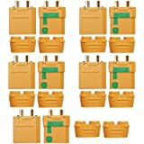 ARRIS 5 Pairs Amass XT90-S Anti-Spark Male Female Connector for Battery, ESC and Charger Lead