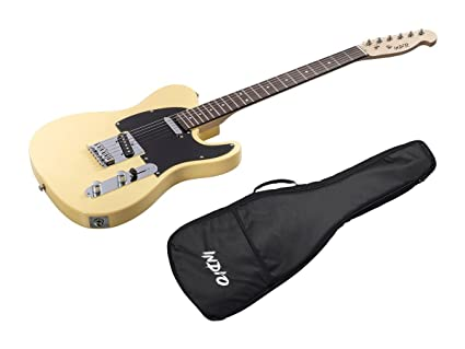 Indio Retro Classic guitarra eléctrica con funda bag-blond