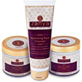 Zanya Nourishing Day Moisturiser - SPF 15, 100GM + Hydrating Face Cleanser + Intense Night Repair Cream, 100GM