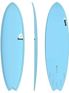 TORQ Tabla de Surf epoxy Tet 6.6 Fish Blue