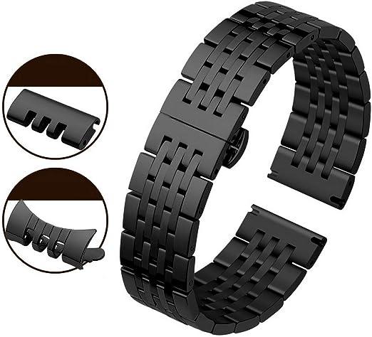 bracelet de montre acier inoxydable 18 mm  remplacement réparation