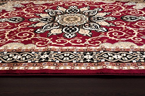 Persian Rugs 653 Isfahan Area Rug Oriental Carpet 5 X 7