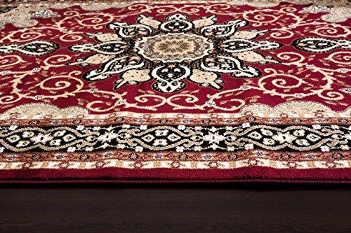 Persian Rugs 653 Isfahan Area Rug Oriental Carpet 5 X 7