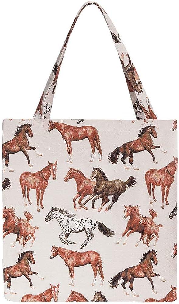 Signare Tapiz bolsas reutilizables fruta y verdura tote bag bolsas de la compra reutilizables con diseño de animales y mascotas