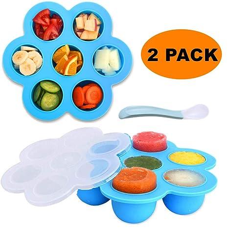 Amazon.com: Moldes de silicona para huevos, 2 unidades ...