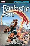 Front cover for the book The Fantastic Four by Stan Lee