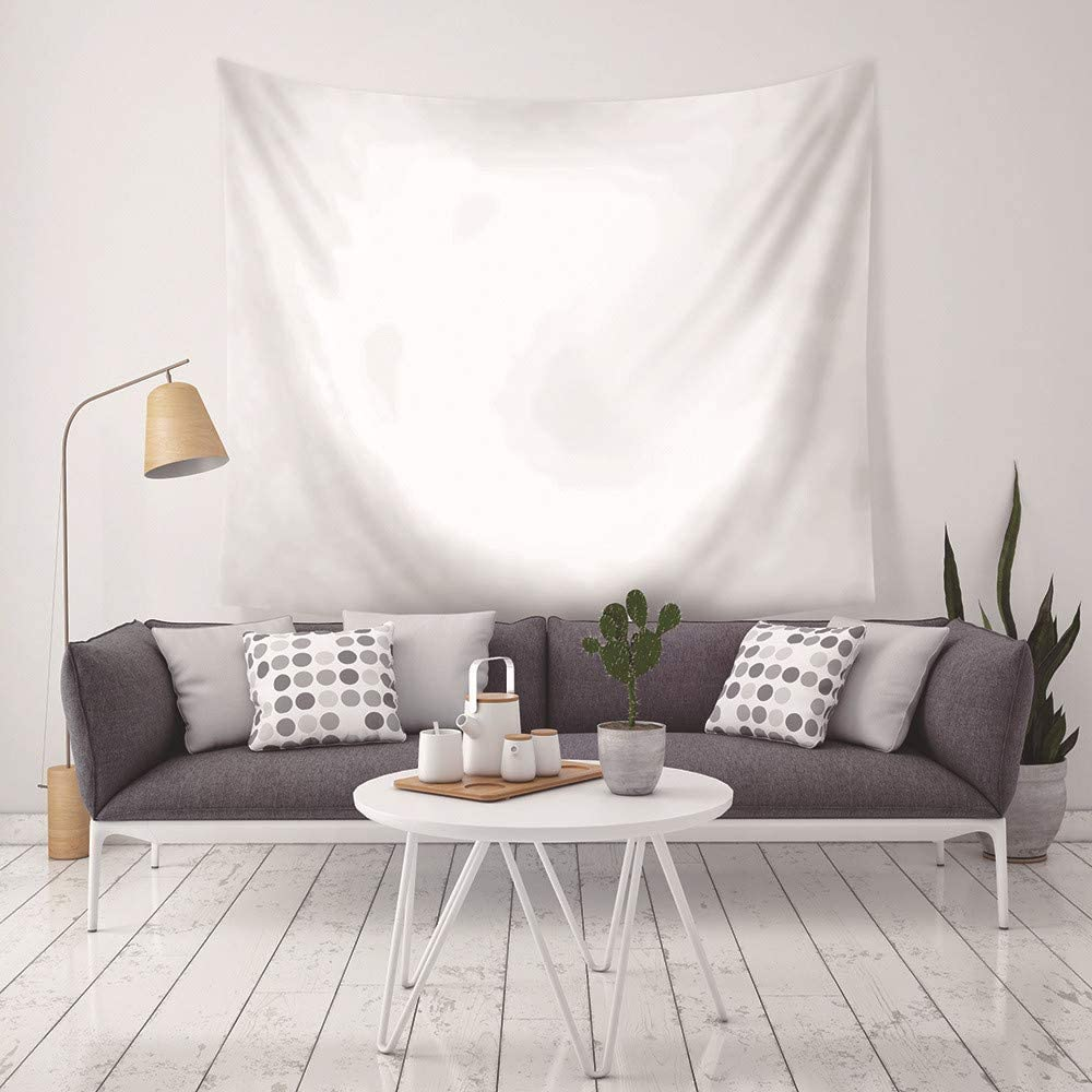 LLWWRR1 Printed Solid Color Home Decor Tapestry Wall Hanging Beach Mat Polyester Thin Blanket Yoga Shawl Mat-150x130cm