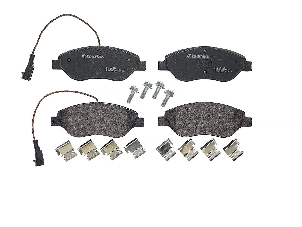 Brembo P23145 Front Disc Brake Pad, Set of 4