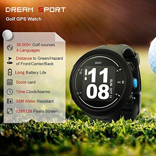 dreamsport Golf GPS Watch DGF301 new generation (Black) by dreamsport (Image #2)