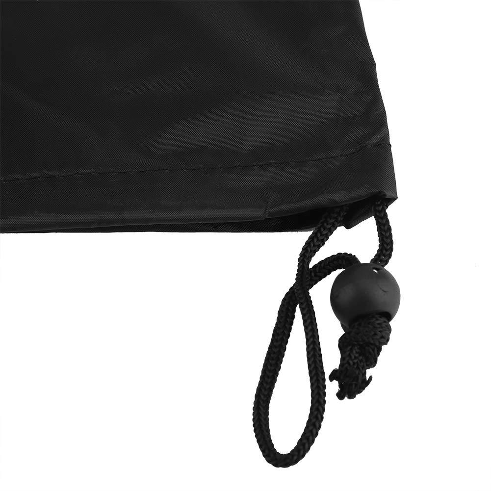 Black Garosa Copertura di Protezione per Altalena da Giardino Impermeabile Copertura del Sedile DellOscillazione Esterna Protezione Copertura mobilia Patio Prato Giardino 74.80 45.28 Pollici