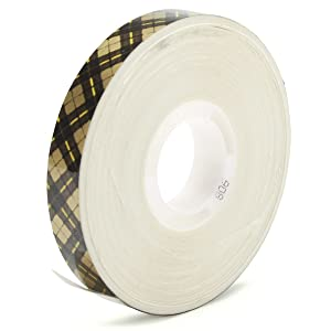 3M Scotch 908 ATG Gold Tape: 1/2 in. x 36 yds. (Clear Adhesive on Tan Liner)