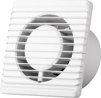 La energía baja cocina baño silenciosa campana extractora 100 mm con extracción de ventilación de cordón: Amazon.es: Bricolaje y herramientas