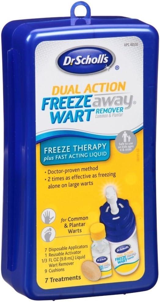 Dr. Scholls Freeze Away Dual Action Wart Remover 7-Treat (3 Pack) by Dr. Scholls: Amazon.es: Belleza