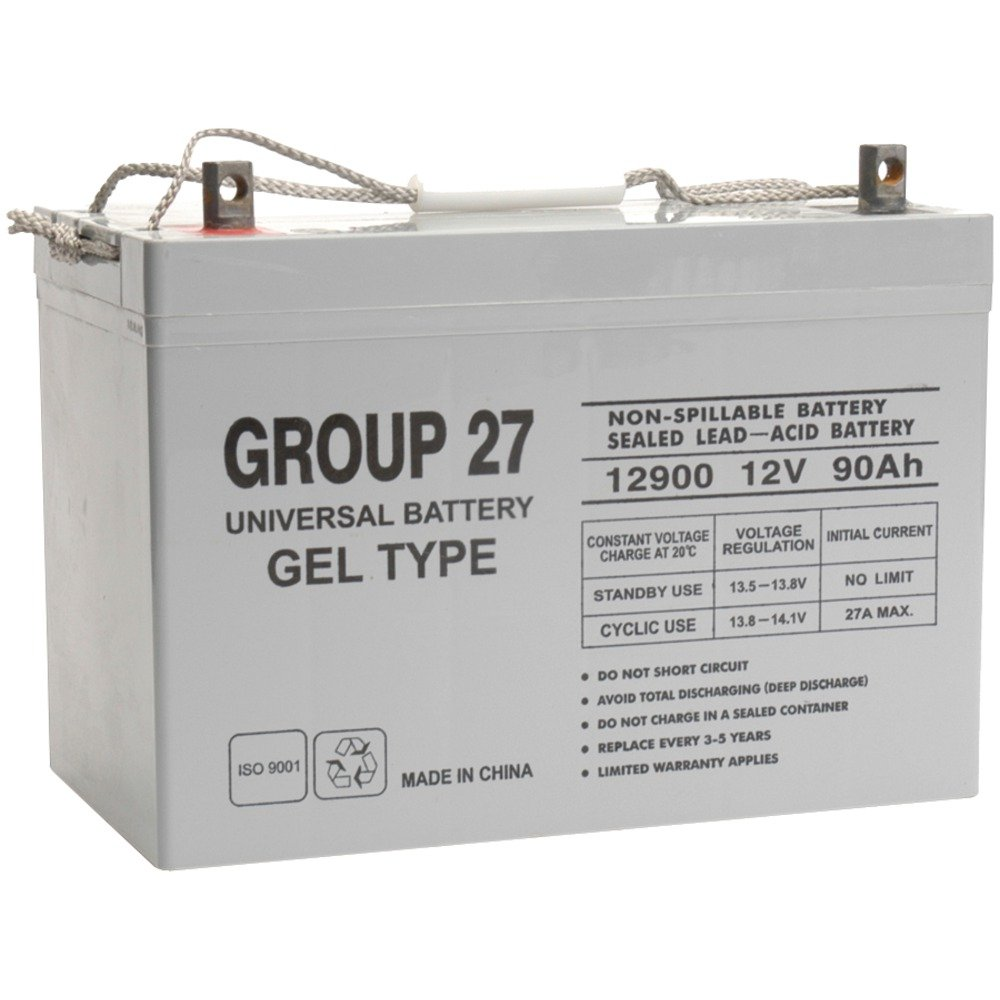 Upg Ub 27 Gel Sealed Lead Acid Battery 12 Volt 90 Ah Nimh Charger Circuit Automatic 12v Gelled Capacity Z1 Terminal Home Improvement