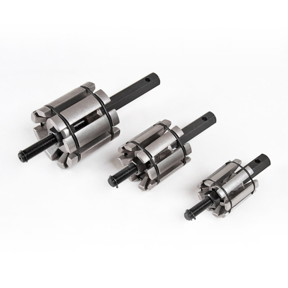 /85/mm con valigetta lars360/3/pezzi Tubo di scappamento tubo aufweiter auto allargamento Tail Pipe Expander rohrspreizer Set /Ø 30/
