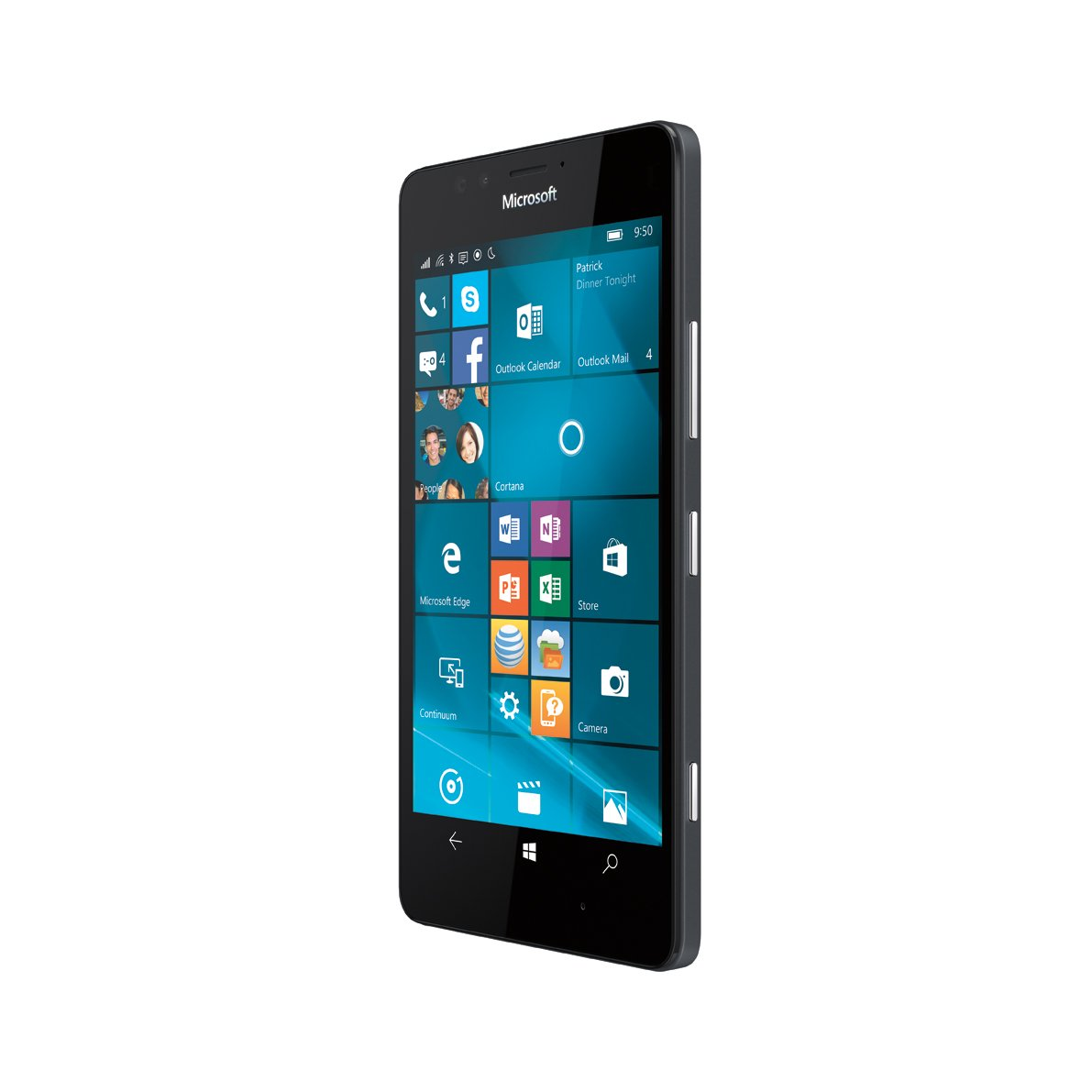 Microsoft Lumia 950, Black 32GB (AT&T) by Nokia (Image #4)
