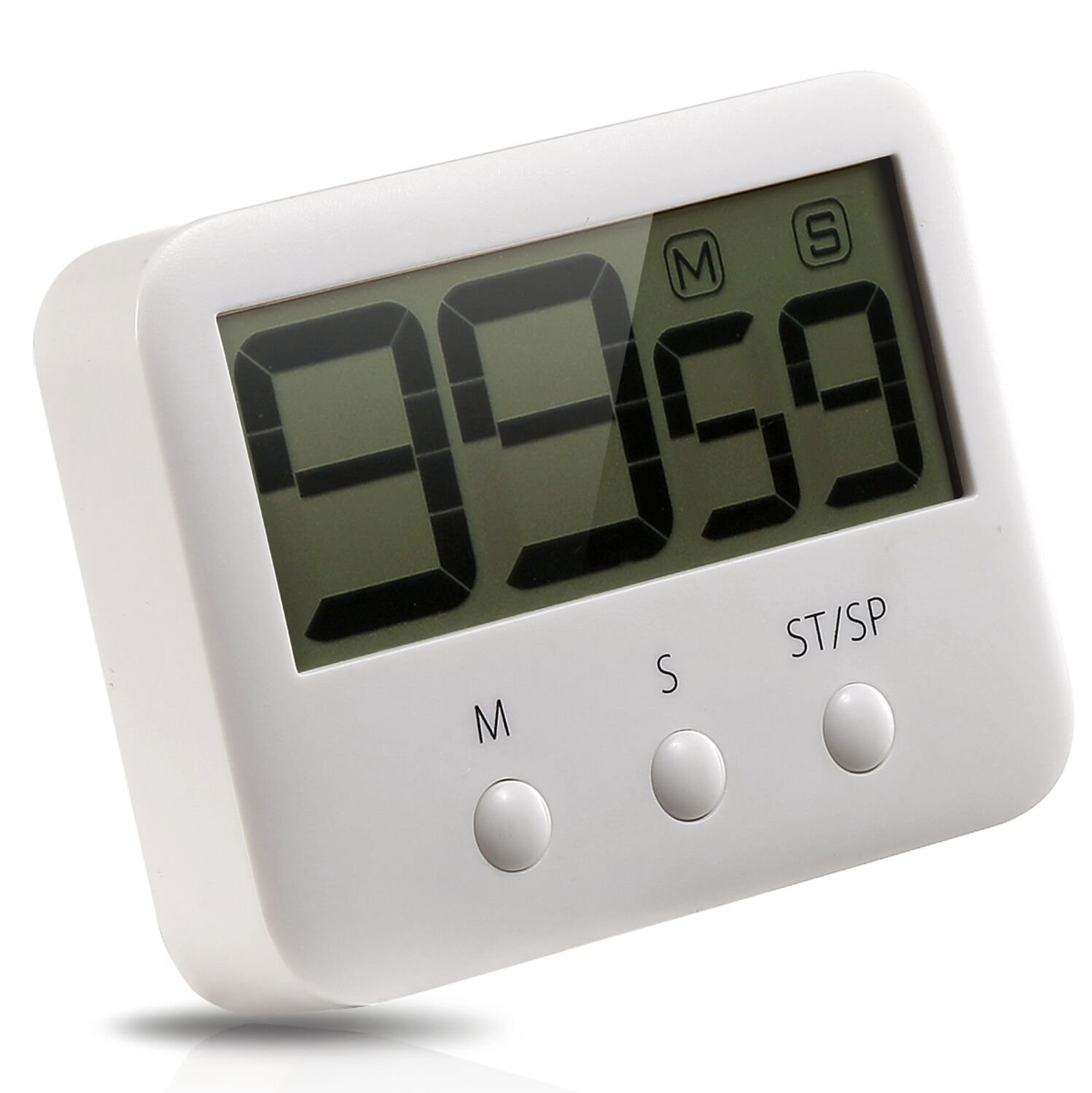 Amazon.com: Metene Digital Kitchen Timer With Large LCD Display And Loud  Alarm System: Kitchen U0026 Dining