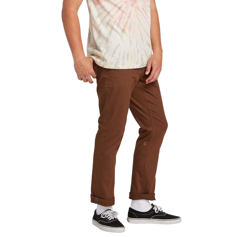 Volcom Vorta 5 Pocket Slub Pantal/ón Hombre
