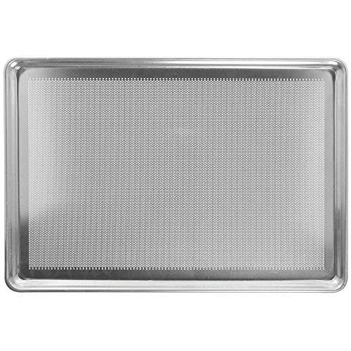Chicago Metallic 44891 Aluminum 18 Ga. Stay Flat Bun Pan