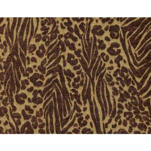 (Wild Zebra Bronze Futon Cover, Queen Size)