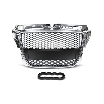 Calandre Grill Audi A3 (8P) rs-type 04.08 – 07.12 cromo