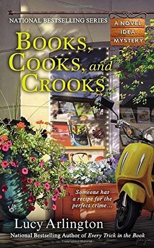 Books, Cooks, and Crooks (A Novel Idea (North Carolina Halloween)