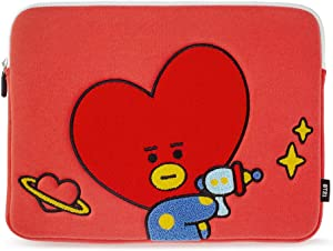 BT21 Official Merchandise by Line Friends - TATA Character Bite Ppogeul Laptop Sleeve 13""
