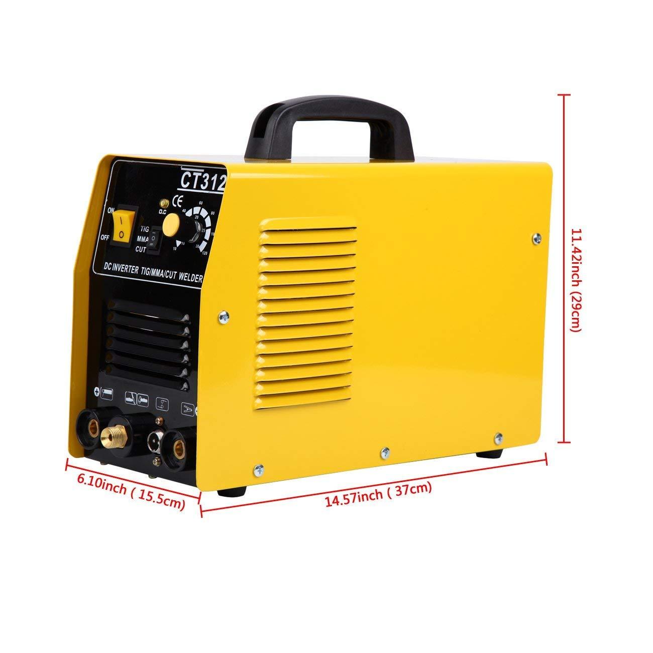 MuGuang 220V multifuncional 3 en 1 aire cortador de plasma inversor TIG soldador soldadura máquina de plasma TIG MMA corte plasma machine: Amazon.es: ...