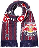 new york red bulls flag - MLS New York Red Bulls Jacquard Scarf with Block Name, One Size, Navy
