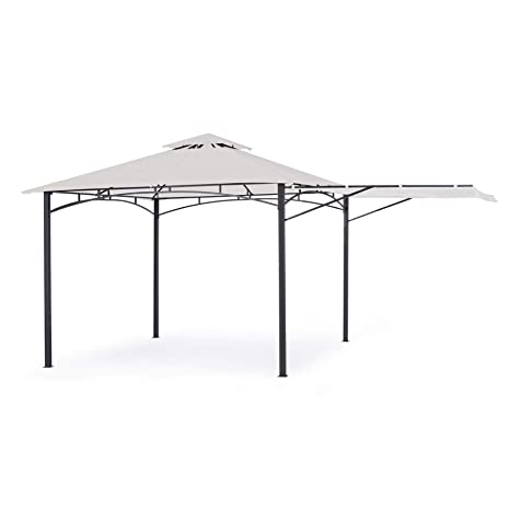 ARREDinITALY - Cenador con Carpa de 3, 35 x 3, 35 m.: Amazon.es ...