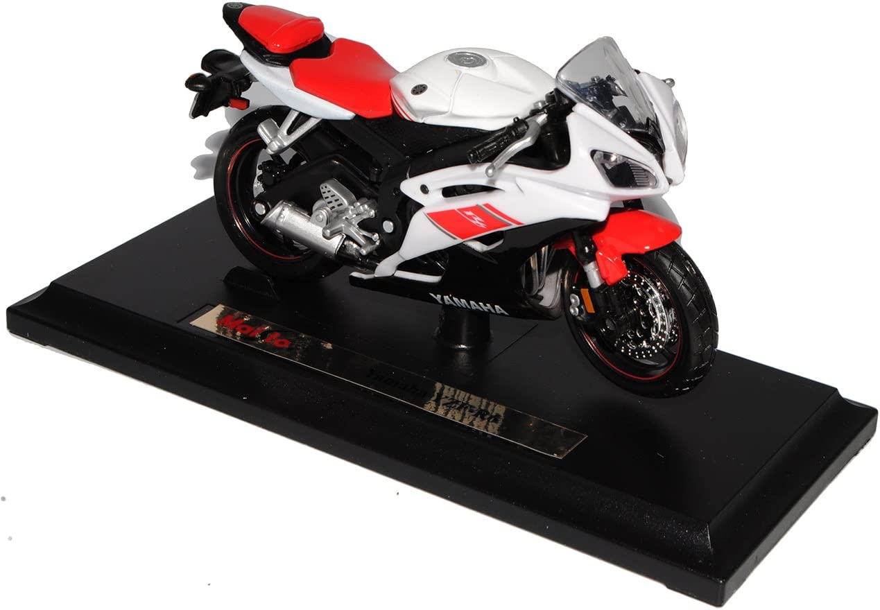 Newray Moto Modello 1:12 Yamaha Yzf-R1 2015 Giallo