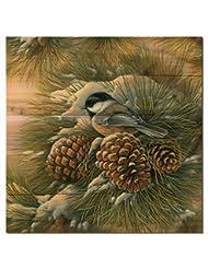 WGI Gallery WA-DDC-2424 December Dawn Chickadee Wall Art